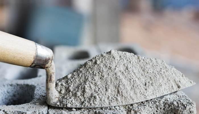 Состав из цемента тяжёлый и мало пластичный