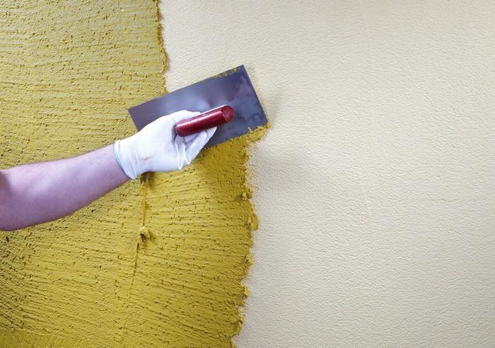 В качестве поверхностей хорошо подходят бетон, кирпич, шлакоблок, камень