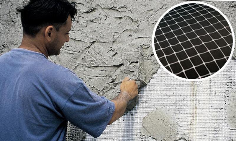 Армирование штукатурки обеспечит надежное сцепление раствора с материалом стен