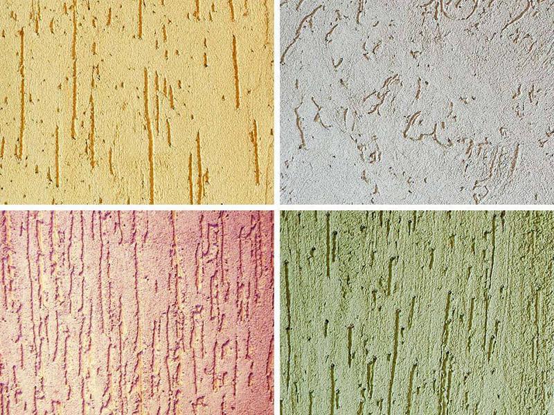 Декоративность интерьера создается не только одной краской, а двумя или несколькими