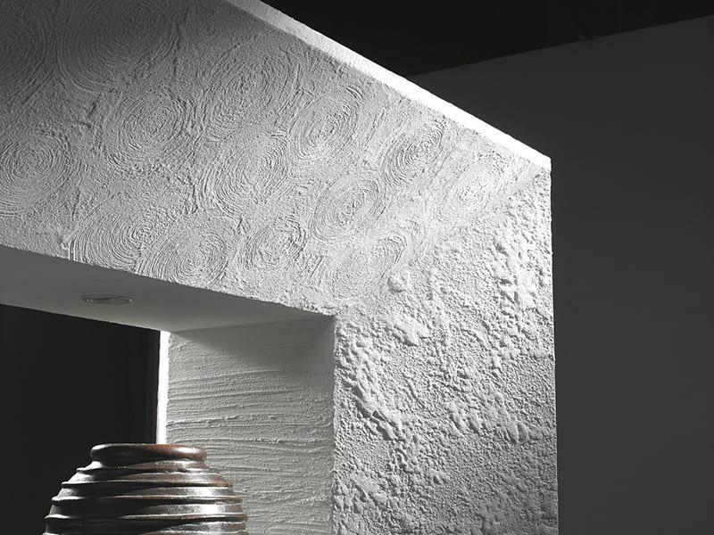 Декоративные смеси позволяют создать фактурную поверхность в современном стиле