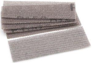 Для шлифовки используют брусок и сетку с ячейкой 1800-200