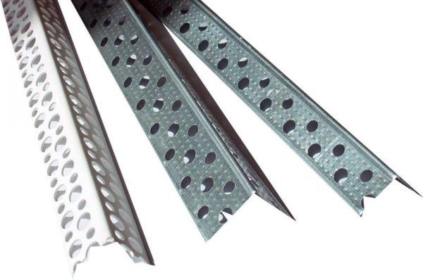 Для создания металлических уголков используют оцинкованную сталь