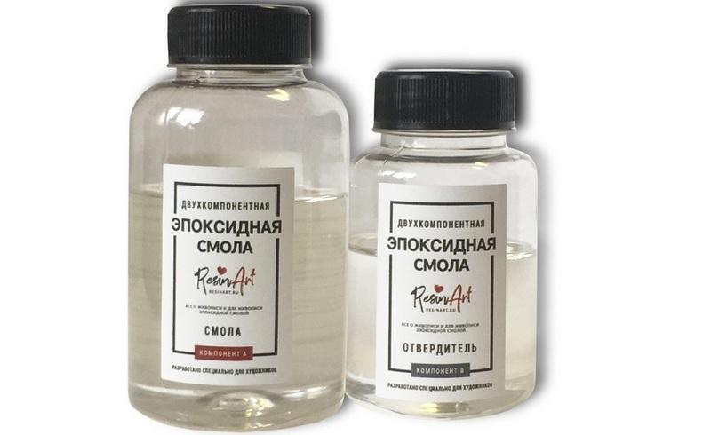 Эпоксидная смола обладает большим уровнем адгезии она легко прикрепляется к ДСП-материалам