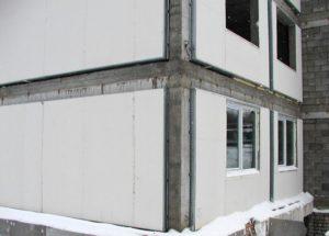 Гипсокартон фасадный устойчив к неблагоприятным природным факторам