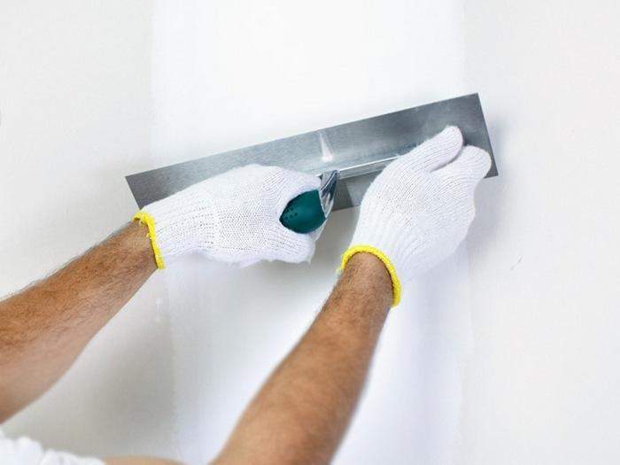 Идеально ровной поверхности можно добиться благодаря применению полимерного состава