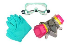 Индивидуальные средства защиты органов дыхания, рук и глаз