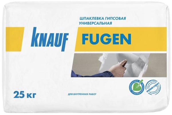 «Кнауф Фуген» – смесь, предназначенная для ремонта внутри помещений