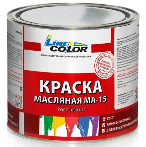Масляной краской красят любые материалы, в том числе и «короед»
