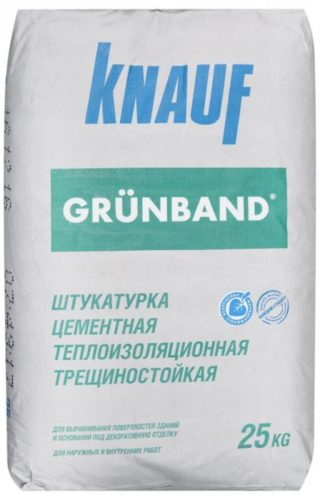 Одним из наиболее известных производителей строительных смесей является Кнауф