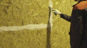 Плиты из древесины в большинстве случаев требуют шпатлевки