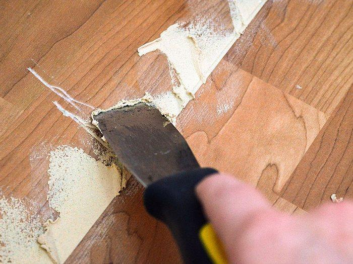 Полимерная шпаклевка - это идеальный вариант для деревянных поверхностей