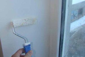 После высыхания локальных обработок поверхность нужно прогрунтовать