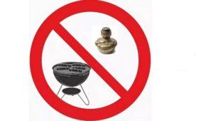 При обогреве помещения запрещено использовать керосинки и жаровни