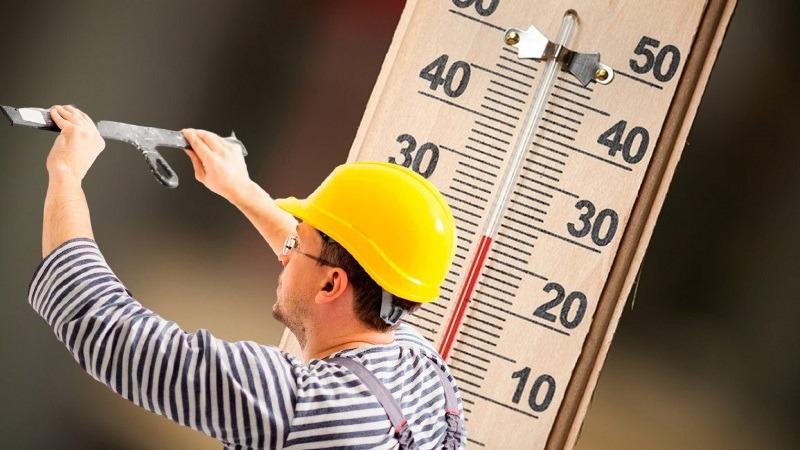 Процесс штукатурки рекомендуется проводить в температурном диапазоне от +5 до +30 градусов