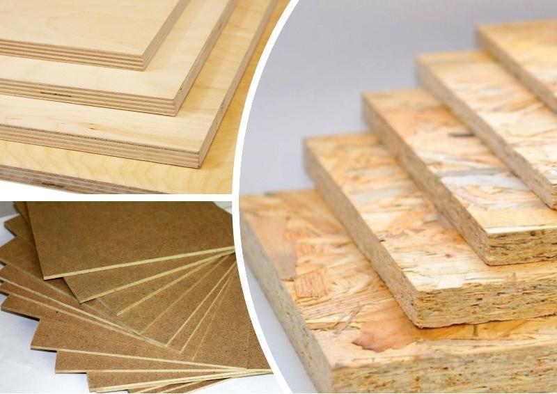 Разновидности древесно-стружечных плит для строительства