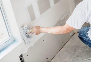 Шпаклевка подготавливает стены под финишную отделку