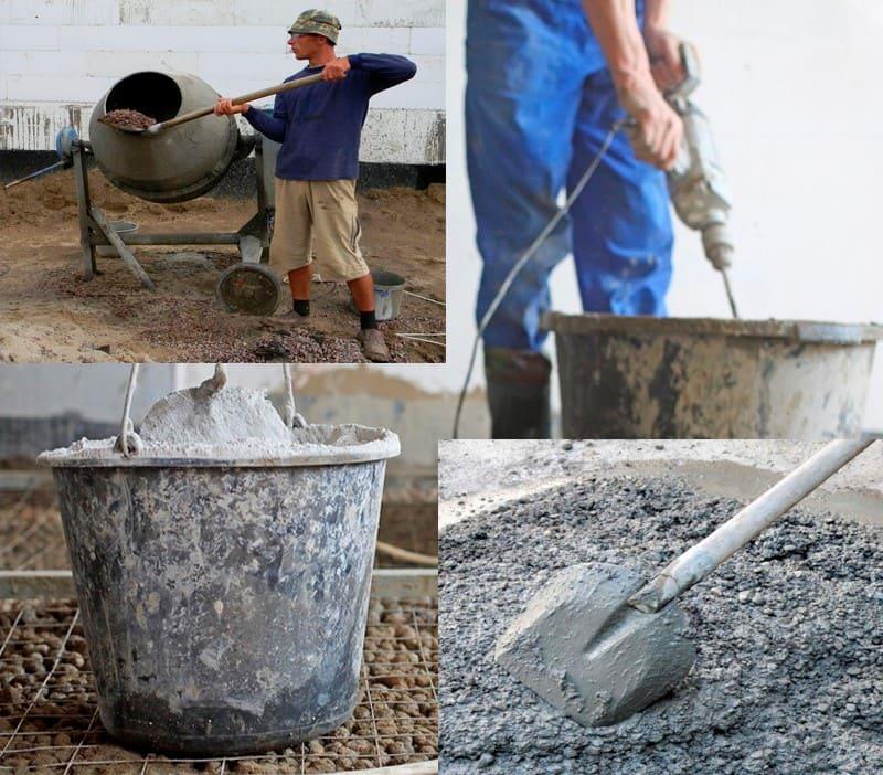 Создание цементно-песчаного состава своими руками позволяет снизить затраты на материалы