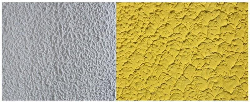 Структурная шпаклевка устраняет различные дефекты и неровности на стенах