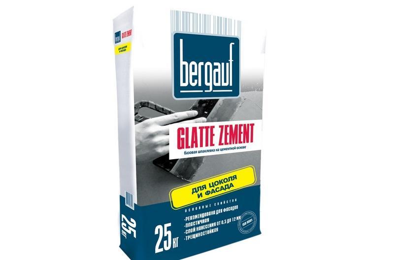 Шпаклевка Glatte zement