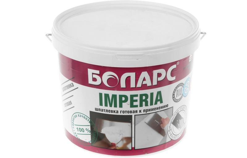 Акриловая шпаклевка «Боларс» предназначена для фасадной и внутренней отделки помещений с нормальной и повышенной влажностью