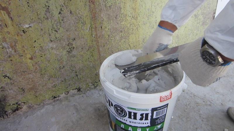 Готовая штукатурка для стен очень проста в использовании