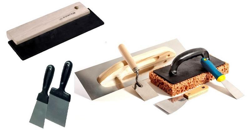 Инструменты для оштукатуривания саманных стен