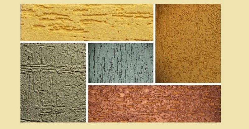 Роллерная штукатурка позволяет создавать рельефные поверхности, напоминающие деревянную плоскость со множеством тонких бороздок