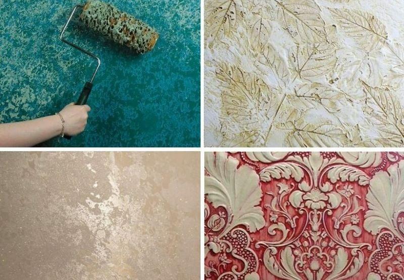С помощью декоративной штукатурки можно придать поверхности оформленный внешний вид и выровнять мелкие дефекты