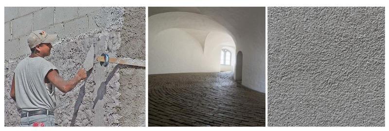 Штукатурку на основе перлита используют при ремонте, выравнивании стен, для декоративных покрытий