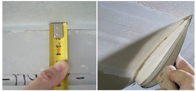 Толщина наносимой шпатлевки не должна превышать 5-7мм