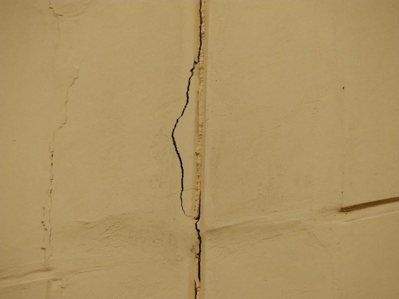 Трещины в лузгах могут появиться из-за недостаточной прочности раствора