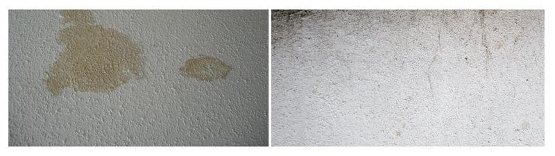 Жирный налет на стенах и копоть - частые причины отслаивания штукатурки