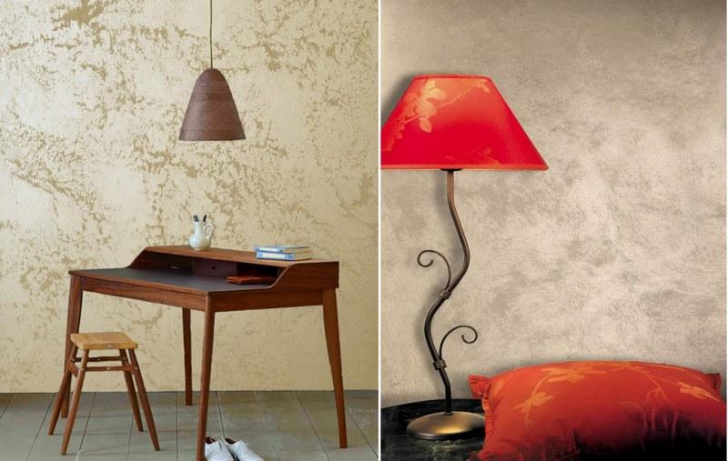 Декоративная штукатурка«песок» применяется для оформления интерьеров и фасадов