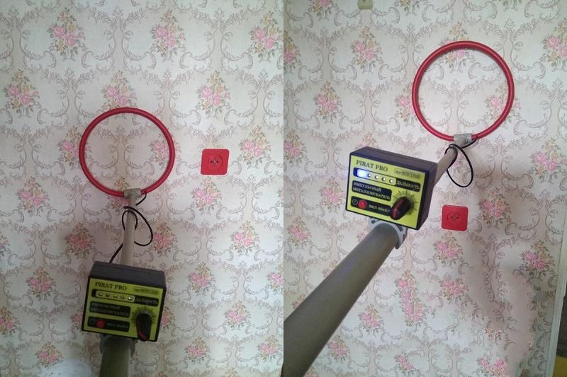 Для обнаружения проводки металлоискателем необязательно, чтобы кабель был под напряжением