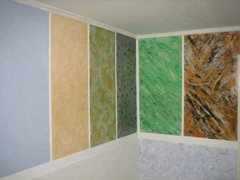 Фасадная штукатурка имеет широкий спектр цветов