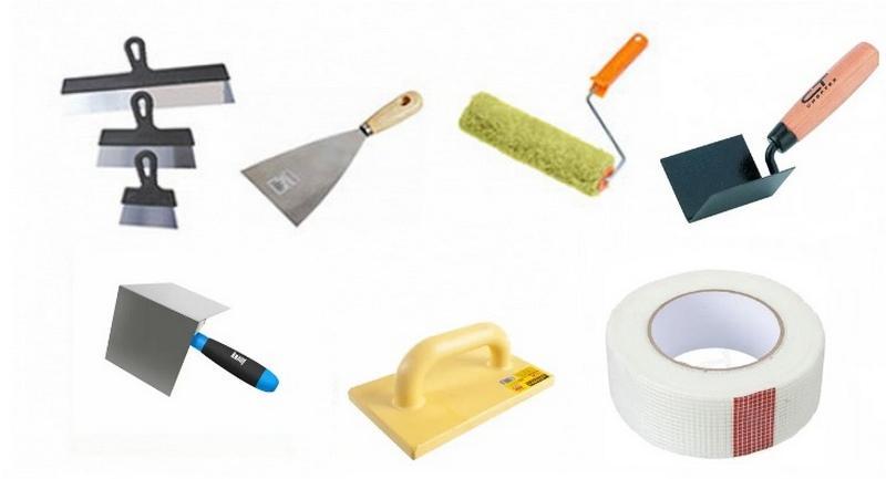 Инструменты для нанесения латексной шпаклевки