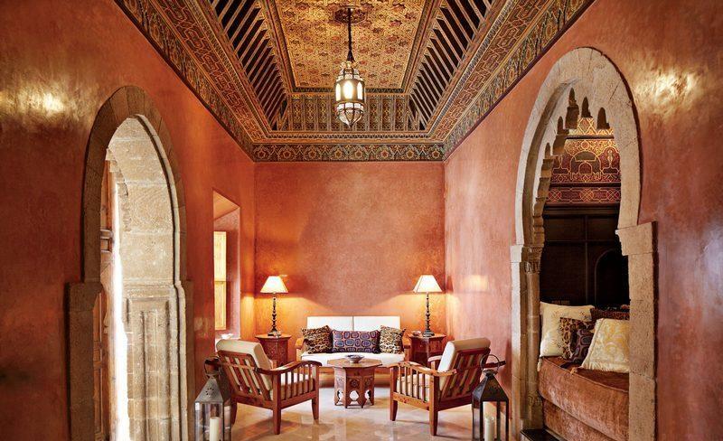Марокканская штукатурка в гостинице