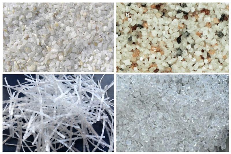 Наполнители структурной штукатурки влияют на расход отделочного материала
