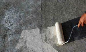 Покрыть поверхность грунтовкой глубокого проникновения