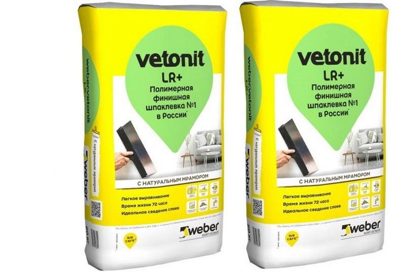 Полимерная финишная смесь Vetonit LR Plus отличается сверхпластичностью, имеет минимальный расход