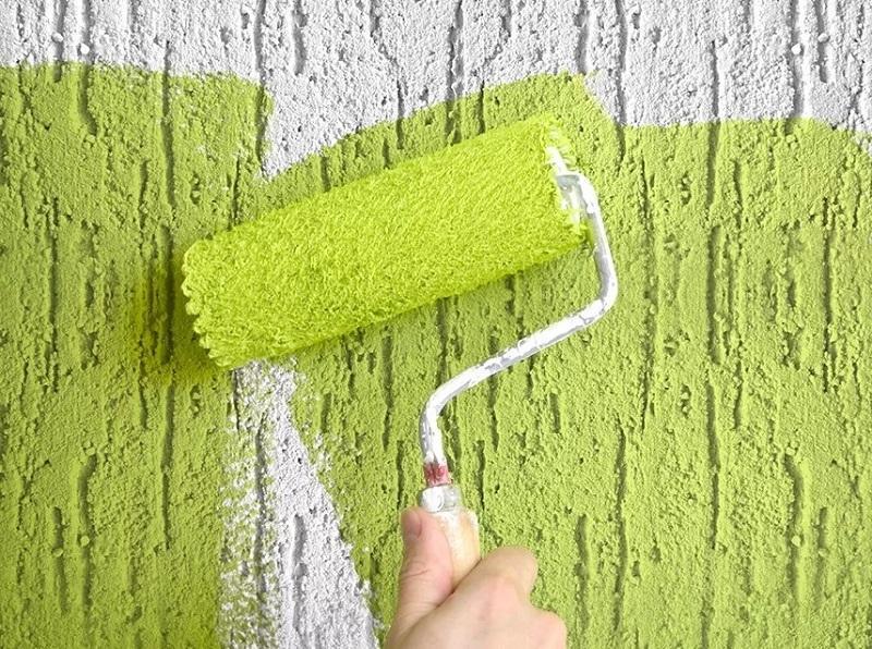 При тонировании поверхности акриловой краской в 2 слоя потребуется 200 г на 1 м2