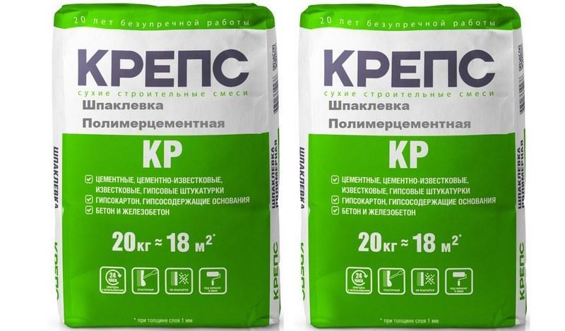 Шпаклевки из полимерцемента удобны в работе и долговечны в эксплуатации