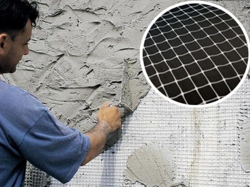 Сетка под штукатурку – строительный материал, который используется для прочности штукатурного состава