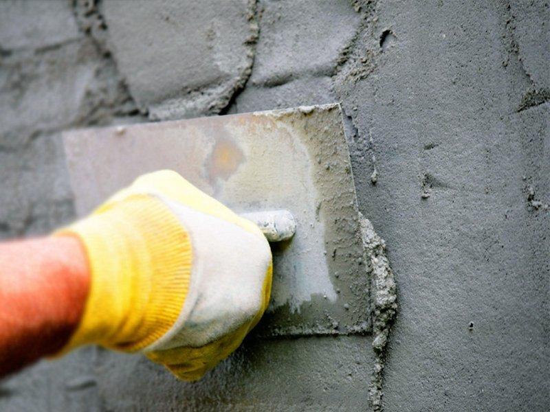 Цементно-известковая смесь имеет пониженную устойчивость к влаге