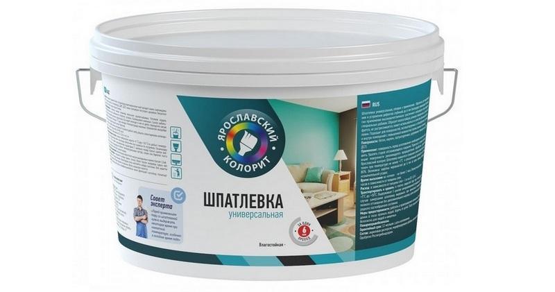 Универсальная шпатлевка подойдет для любого этапа работы над стеновыми или потолочными поверхностями