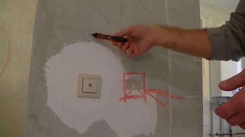 Узнать место расположение проводки необходимо во время ремонтных работ