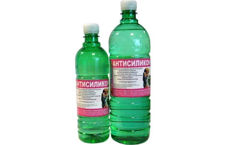 Антисиликон используют для обработки большой площади, однако средство обладает высокой токсичностью