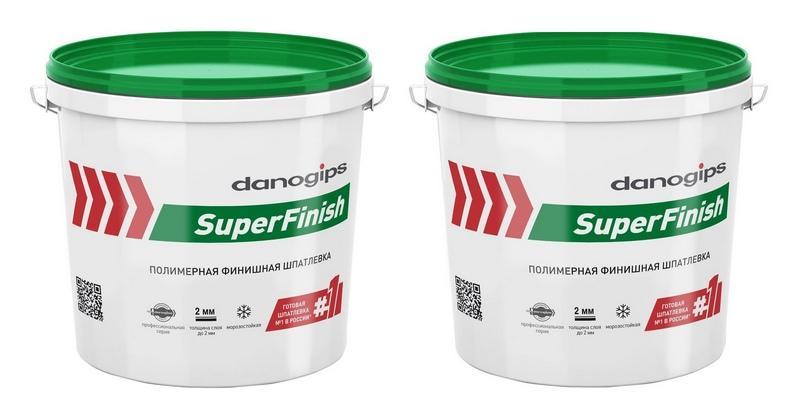 Danogips sheetrock superfinish - готовая пастообразная полимерная шпатлевка