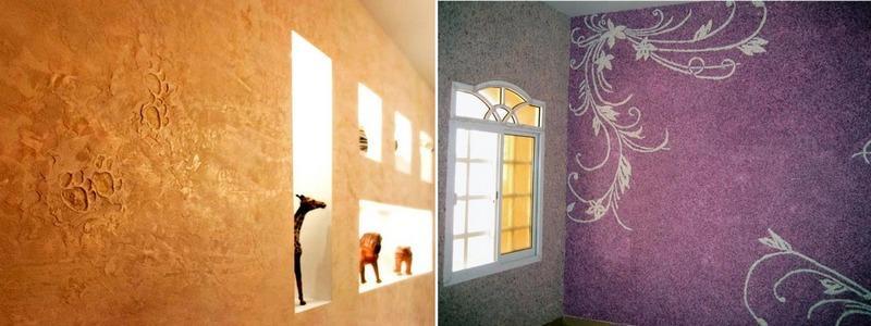 Декоративная штукатурка – отличная альтернатива обоям или покраске